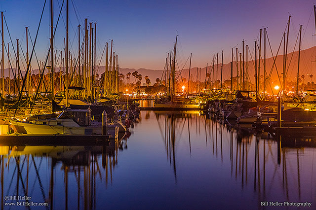 Evening Harbor Glow