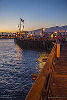 Evening on Stearns Wharf