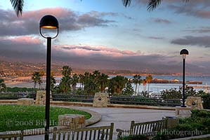 SBCC View of Stearns Wharf